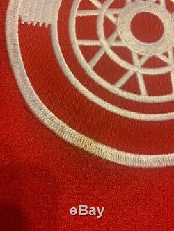 Rare Joe Kocur Red Wings CCM Hockey Game Used Stick Jersey Lot Joey Signed Worn