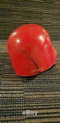 Ron Oester 1978-1990 hand-signed GAME USED WORN Cincy Reds BATTING HELMET