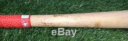 Ronald Acuna Jr. Atlanta Braves Game Used Bat Signed 2016 PSA LOA