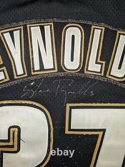 SHANE REYNOLDS Game Used Worn HOUSTON ASTROS Batting Practice Jersey Signed 48
