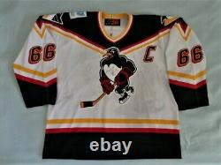 SP Mario Lemieux Game Worn Used Gamer Jersey WBS Penguins Signed LOA Pittsburgh