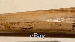 Sammy Sosa Game Used Bat Chicago Cubs Autographed Signed