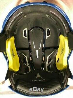 Signed Cale Makar #8 2020 Colorado Avalanche Game Used Stadium Series Helmet
