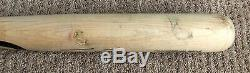 Tim Tebow GAME USED 2016 CRACKED BAT autograph SIGNED Mets inscribed HOLOGRAM