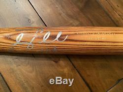 Tim Tebow Game Used SIGNED ZINGER Bat New York Mets TEBOW COA