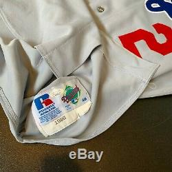 Tommy Lasorda Signed 1998 Game Used Los Angeles Dodgers Jersey JSA & Miedema COA
