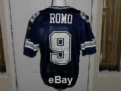 Tony Romo Game Used Autographed Dallas Cowboys Jersey Matched to Redskins PROVA