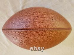 Ultimate Brian Urlacher Signed Package Game Used Glove and Auto NFL Football