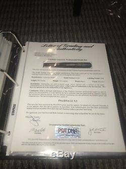 Vladimir Guerrero Los Angeles Angels Game Used Bat Signed 2004 PSA DNA LOA