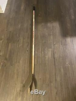 WAYNE GRETZKY game used / autographed hockey stick Titan TPM 2020 1989-90