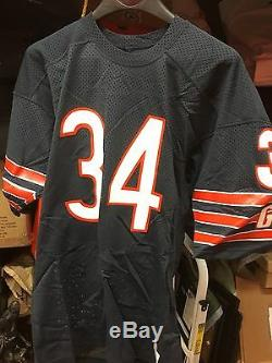 Walter Payton Chicago Bears Game Used Signed Jersey Circa 1984-86 PSA/DNA Authen