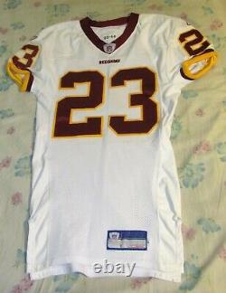 Washington Redskins Signed Ade Jimoh Authentic Game Used Cut Jersey 2003 Rookie