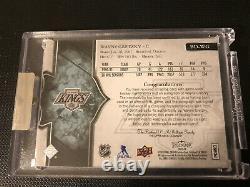 Wayne Gretzky 17-18 Splendor, Game Used Memorabilia With Hard Signed Auto 12/36