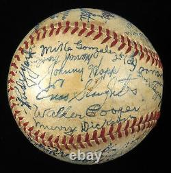 1942 St. Louis Cardinals World Series Champions Team Signed Game Used Baseball Bas