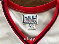 1974 Carl Yaz Yastrzemski Red Sox Jeu Usé Et Signé Maillot De Baseball