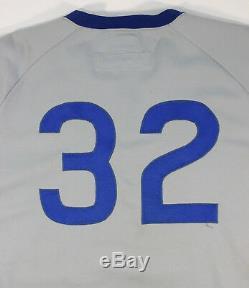 1974 Chicago Cubs Tom Dettore Jeu Utilisé Jersey De Route Utilisé Signé Par Milt Pappas