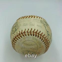 1976 Yankees Équipe A Signé Jeu Utilisé Baseball Thurman Munson - Nolan Ryan Psa Adn