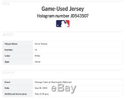 1983 Pete Rose Phillies Jeu Utilisé Worn Et Signé Baseball Jersey Sgc Loa