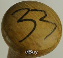 1984-85 Eddie Murray A Signé Le Jeu Utilisé Batte Orioles Dodgers Angels