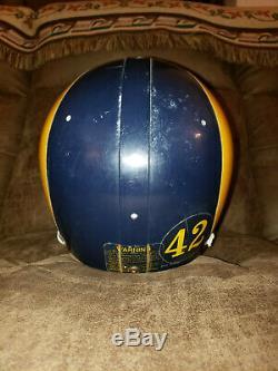 1984 Los Angeles Rams Jack Youngblood Game-portés Utilisé Autographié NFL Helmet