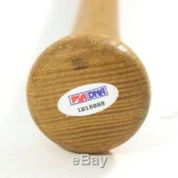 1986 Bo Jackson K. C. Royals Signés Jeu Occasion Rookie Bat Bat Plus Tôt Bo En Hobby