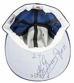 1989-1993 Ken Griffey Jr Jeu Occasion Et Signé Seattle Mariners Cap