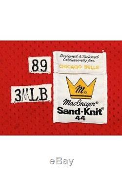 1989-90 Jersey De Route Michael Bull De Chicago Jordan Game Utilisé Et Autographié $$$$