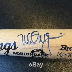 1989 Mark Mcgwire Signé Jeu Utilisé Rawlings Batte De Baseball Psa Dna Coa