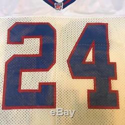 1990 Ottis Anderson Jo Signé Jeu D'occasion New York Giants Jersey Psa Adn Coa