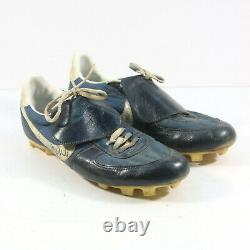 1991 George Brett Kansas City Royals Signed Game Used Cleats Pounded Pinetar Jsa