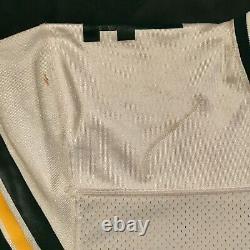 1993 Brett Favre Green Bay Packers Jeu Utilisé Worn Jersey 2 Signé Réparations Équipe
