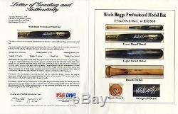 1994 Ny Yankees Jeu Occasion Et Signé Hof Wade Boggs Psa 10 Batte De Baseball