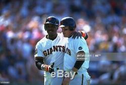 1994 San Francisco Giants Matt Williams Autographed Jersey Porter Utilisé Jeu