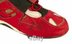 1995 Deion Sanders Jeu Occasion Et Signé Nike Taquet