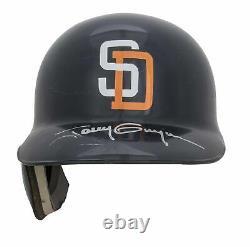 1998 Tony Gwynn Jeu Utilisé Et Signé San Diego Padres Batting Helmet Used For Care