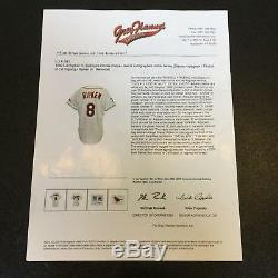 1999 Cal Ripken Jr. Jersey Usé Signé Baltimore Orioles Domicile Avec Jsa Coa