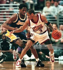 1999 Kobe Bryant L. A. Lakers Signé Jeu Utilisé Chaussures Rares Adidas Pe Psa Loa
