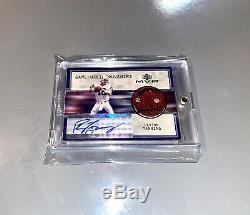 1999 Peyton Manning Upper Deck Autograph Jeu Utilisé Football Uda Auto Sp Signé