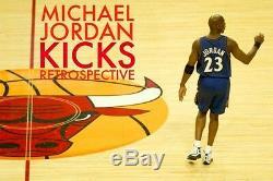 1/1 Historic Michael Jordan Team Fbi Game Utilisé Chaussures Dédicacées! Coa Uda Complet