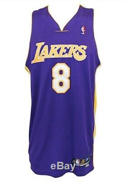 2004-05 Maillot Kobe Bryant Lakers Utilisé Et Autographié (jsa Nba Hologram)
