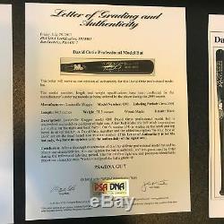 2004 David Ortiz Jeu Signé Bat World Series Saison Championnat Saison Adn Psa