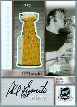 2009-10 The Cup Sidney Crosby Stanley Cup Titlists Jeu Utilisé Jersey Auto 1/1