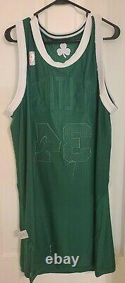 2011 Boston Celtics Authentic Nba Away Game Worn Jersey D'occasion Paul Pierce Signé