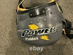 2013 Antonio Brown Pittsburgh Steelers Jeu Utilisé Signé Épaulettes Grande Utilisation