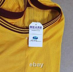 2014-16 Lebron James Signé Cavs Jeu Worn Used Jersey Mears A10 Auto Sia Loa