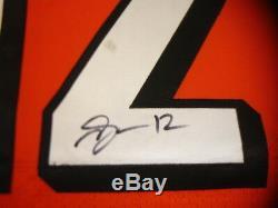 2014 Mohamed Sanu Cincinnati Bengals Autographié Jeu Jersey Occasion # 12