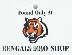 2015 Aj Green Game Occasion Et Signé Bengals De Cincinnati Maillot Route De Photo Pour Rehausser