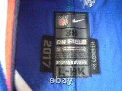 2017 Nike Leonard Johnson Buffalo Bills Jeu Football Auto Anciens Et D'occasion Jersey