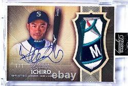 2017 Topps Dynasty Ichiro Suzuki Autographe Jeu Utilisé Patch Auto 1/5