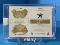 2018 Flawless Smith Emmitt Distingué Patch Autographs Or 02/10 Game-occasion